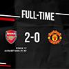 Arsenal Beri Kekalahan Perdana Solskjaer Bersama MU di Liga Inggris