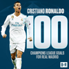 Ronaldo Cetak Rekor 100 Gol di Liga Champions